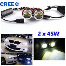 90W LED CREE Canbus Angel Eyes Standlicht Scheinwerfer BMW E39 E60 E63 E65 E87