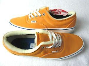 Vans Mens Era Foam Classic Skate shoes Zinnia Orange Marshmallow Size 12 NEW