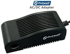 Outwell Unisexs AC//DC Adaptor One Size Black