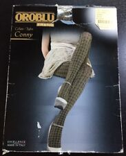 OROBLU Trend Collant / Tights Conny Strumpfhose beige Muster S *neu* 💛