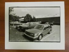 Vintage Glossy Press Photo Natick MA Cars in the Sports Club Parking Lot 7/21/87
