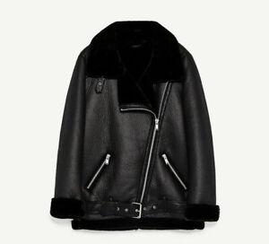 2020 Womens Suede Coat Aviator Leather Jacket Winter Coat fur liner jacket coat