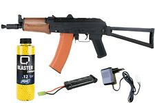 Softair Gewehr Kalashnikov AK74U VOLLAUTOMATISCH AEG Vollmetall Cyma  <0,5J AK47