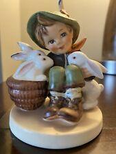 New ListingPlaymates, Boy Rabbits Bunnies, Vintage Hummel Figurine