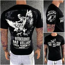 YAKUZA Premium T-Shirt 2818 Schwarz M L XL XXL 3XL 4XL Totenkopf Herren Shirt