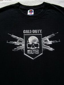 CALL OF DUTY MW3 elite XL T-SHIRT xbox 360 playstation 3 ps3 wii Modern Warfare