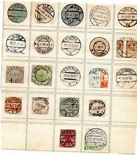 Poland Cancels Postmarks cuts from Covers Collection