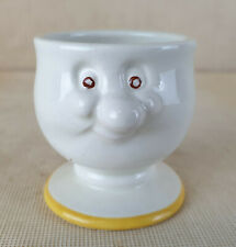 Vintage Carlton Ware Novelty Egg Cup, Mr Potts, Happy Face,The Mustard Shop, Nor