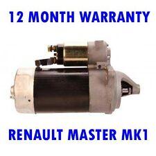 RENAULT MASTER MK1 MK I 2.4 1980 1981 1982 1983 1984 - 1989 RMFD STARTER MOTOR