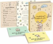 MPFY- Baby Shower Advice Cards, Baby Shower Games, Pack of 100, Prediction Cards