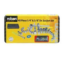 "ROLSON TOOLS 40 PIECE SOCKET SET - 36109 - 1/4"" & 3/8"" DRIVE SOCKET SET"