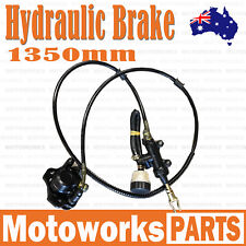 1350mm Hydraulic Rear Disc Brake Caliper System Dirt Quad Bike ATV Buggy Gokart