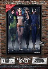 5 Print Set, Gotham Girls EVOLUTION - Poison Ivy Harley Quinn Catwoman Batgirl