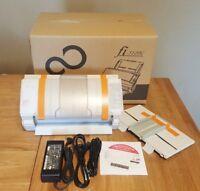(Full Package in box)Fujitsu fi-5120C Scanner  w/ OEM AC adapter+USB+2 Trays+CD