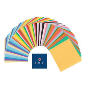 80 Sheets JAPANESE Square ORIGAMI CHIYOGAMI CRAFT Folding PAPER 27 colours 15cm