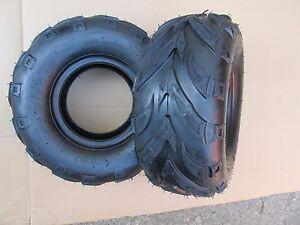 ATV Quad tyres pair tubeless 145 - 70 - 6 golf cart buggy LT50 Meerkat