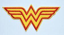 Wonder Super hero Women Prop Uniform TV punk rockabilly Iron On patch