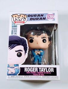 Funko Pop Rocks Duran Duran Roger Taylor #128 Vinyl Figure Jacket NIB New In Box