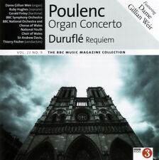 POULENC: ORGAN CONCERTO, DURUFLÉ: REQUIEM ETC – BBC CD (2015) GILLIAN WEIR