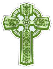 Magnetic Bumper Sticker - Celtic Cross Magnet (Christianity, Religion, Irish)
