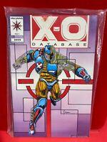 X-O Manowar Retribution Sealed With X-O Database #1 1993 C3