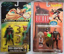 Lot of 2 Batman figures  - Transforming Dick Grayson, Decoy Batman