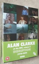 ALAN CLARKE at the BBC volume 2 disruption (1978-1989) 6 disc box set DVD *NEW*