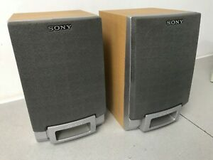 Genuine Sony Micro Bookshelf Speakers PMC R35L