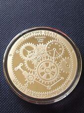 T.I.M.E. Series ~ Shifting Gears ~ 1 oz .999 Silver Proof-Like Bullion Art Round