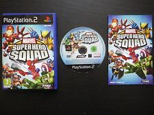 MARVEL SUPER HERO SQUAD : JEU Sony PLAYSTATION 2 PS2 (Thq COMPLET envoi suivi)