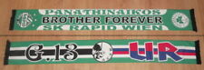 SCARF PANATHINAIKOS GATE 13 FRIENDS ULTRAS RAPID WIEN SCHAL ULTRAS