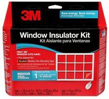3M Clear Indoor Window Film Insulator Kit- 6 FT 8 IN X 19.5 FT