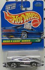 JAGUAR XJ220 RACE SILVER SPORTS CAR 1 721 DASH 4 CASH SERIES HW HOT WHEELS