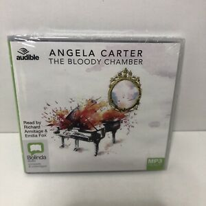 The Bloody Chamber by Angela Carter (English) Compact Disc Book MP3 NEW / SEALED