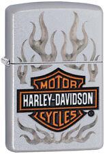 Zippo Harley Davidson Motorcycles Flame Logo Windproof Lighter 09740