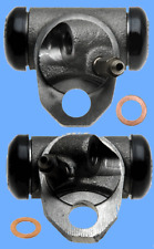Set (2) Drum Brake Wheel Cylinders Front Left & Right For Chevy II & Corvair