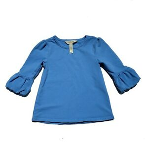 Matilda Jane Shirt Size 2 Bright Skies Tee Camp MJC Puffer Layering