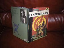 BLAKE ET MORTIMER - LA MARQUE JAUNE - PREMIERE EDITION GRAND FORMAT 1987