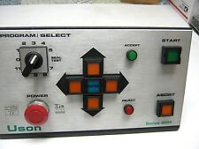 USON CORP  SERIES 4000 CONTROL PANEL   WITH THE WIRING HARNESS   CLEAN  ~