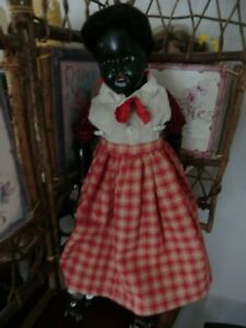 antique Germany  Black  doll unknown