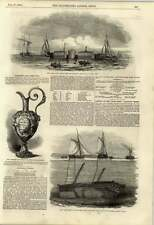 1848 Raising Of Earl Grey Coastal Vessel Whittaker Channel Essex Inflated Cases