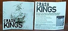 Crash Kings sticker (THE LAST ONE THAT I HAVE TO SELL)