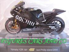 MOTO GP 1/18 YAMAHA YZR-M1 # 46 COLLECTION  ROSSI TEST PHILIP ISLAND 2004