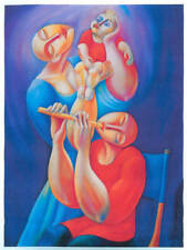 Adoration with Flute by Yuroz