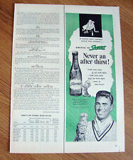 1954 Squirt Soda Bottle Ad