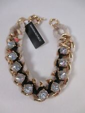 Banana Republic Woven Crystal Friendship Bracelet NIP $45