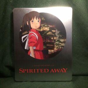 SPIRITED AWAY: Limited Edition 3 Disc Steelbook (Blu Ray / DVD / Miyazaki)