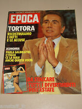 EPOCA=1983/1708=ENZO TORTORA=RICCARDO MUTI=FALCAO AS ROMA=JOHN KENNETH GALBRAITH
