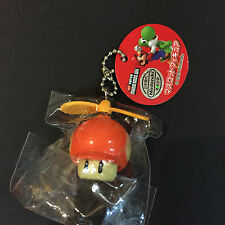 Nintendo Super Mario Kart Item Propeller Power Mushroom Keychain Figure Japan