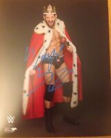 Wade Barrett Signed 8x10 photo OFFICIAL LICENSE WWE PROMO . NXT WWE AEW ROH